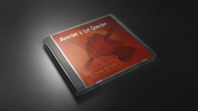Pochette CD du groupe Apache et le Quincho