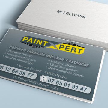 Cartes de visite Paint X Pert