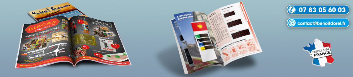Conception catalogues et magazines