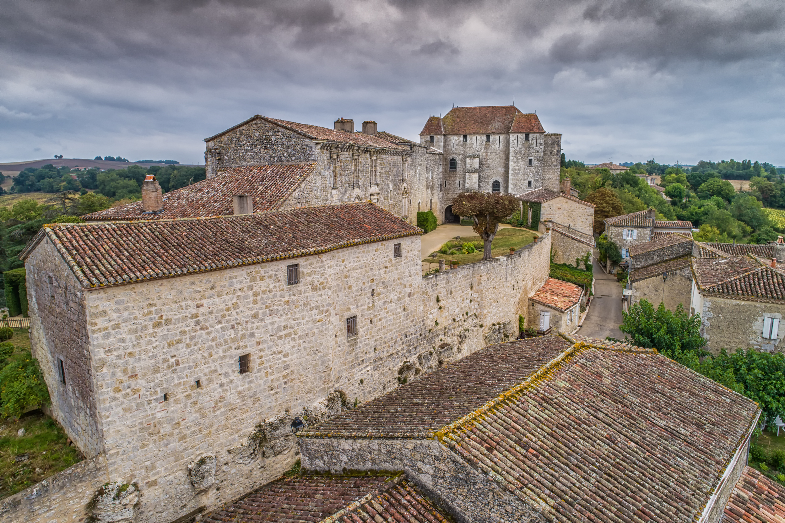 Le château de Gramont (82)