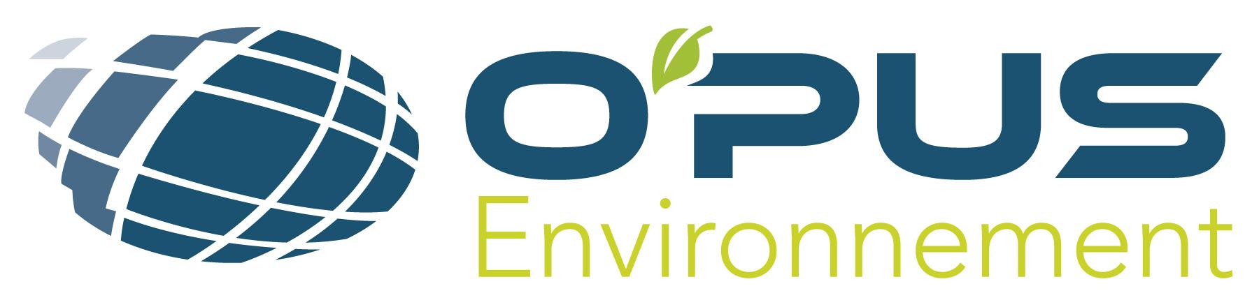 Relooking du logo O'PUS Environnement