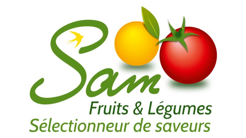 Logo Sam fruits & légumes